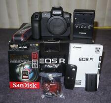 Canon EOS R 30.3MP Digital Camera w/ Box, RRS Plate, 32GB Card, etc.