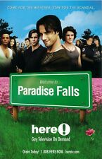 Paradise Falls poster - original promotional poster - 11 x 17 inches