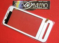 TOUCH SCREEN+VETRO PER NOKIA C6 C6-00 BIANCO DISPLAY LCD VETRINO NUOVO RICAMBIO