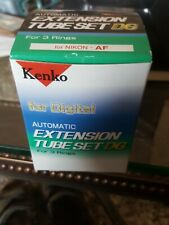 Kenko Automatic Extension Tube Set for Nikon AF BRAND NEW NEVER USED