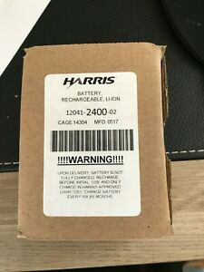 Harris Li-ion Rechargeable Battery PN 12041-2400-02 Cage 14304
