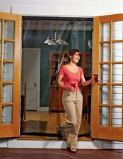 Bug Off 72R by 80 Instant Screen  Reversible Fits French Doors and Sliding Glass