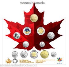 2017 Canada Coin Collection & Classic Set - My Canada , My Inspiration - E705