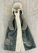 NEW BUNNIES BY THE BAY BEST FRIEND ROXY RACCOON CAMP CRICKET SECURITY BLANKET