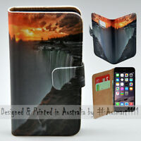 Wallet Phone Case Flip Cover ONLY for iPhone 6 Plus / 6S Plus - Niagara Falls