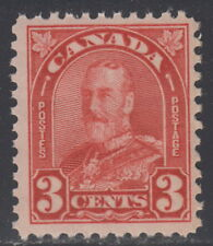 Canada #167 3¢ King George V Arch Issue Mint Never Hinged - B