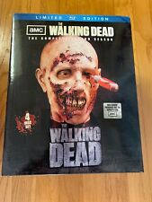 The Walking Dead Season 2 NEW Blu-ray Set Limited Edition Zombie Head & driver