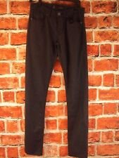 Guess Slim Fit Low Rise Tapered Leg Dark Gray Jeans # RN62136 NWT!! Retail $128