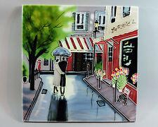 """Ceramic Wall Tile French """"La Rue"""""""