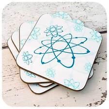 Atomic Era Coasters, Années 1950 Style Coasters, rétro-Rétro, Cadeau, MCM Cadeau