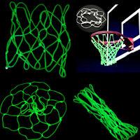 Glow In The Dark Basketball Hoop Net Luminous Shoot Training Sports Kid Gifts DS
