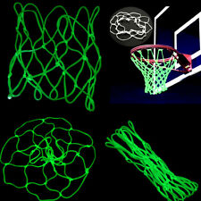 Glow In The Dark Basketball Hoop Net Luminous Shoot Training Sports Kid Gift vb
