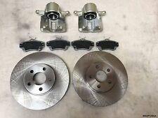 2x Front Brake Caliper, 2x Discs&Pads Chrysler PT Cruiser 2001-2010 BRK/PT/001A