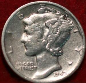 1942/41 Philadelphia Mint Silver Mercury Dime