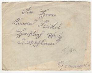1935 Dec 10th. Cover. Bucharest to Pfalz, Germany.