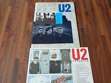 U2 - BILLET DE CONCERT - TICKET ORIGINAL + PROGRAMME + PUB -  PARIS BALARD 1984