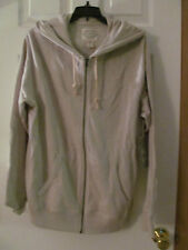 NWT Men's St. John's Bay Classic Stone Zip up Hooded heavy Jacket Size small