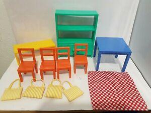 IKEA Lillabo meubles salle à manger dining room furniture mobilier maison poupée