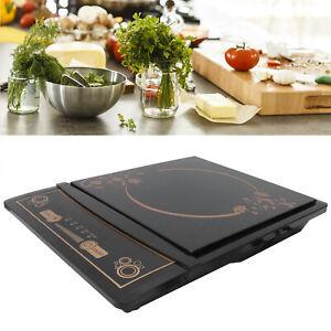 Single Induction Cooker Portable Cooktop Burner Hot Plate Digital Stove