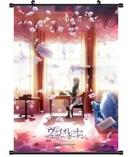 "Hot Japan Anime Violet Evergarden Poster Wall Scroll Home Decor 8""×12"" FL930"