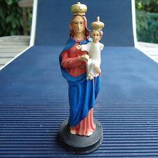 Notre-Dame du Très Saint Rosaire Superbes Reliefs & Détails 13 x 5 Cms 112 Grs