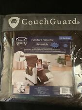 Couch Guard Reversible Furniture Protector for Recliners - Recliner (Brown)