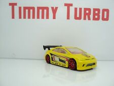 HOT WHEELS HONDA CIVIC SI COUPE 2006 YELLOW NIGHT BURNERZ  70MM MALAYSIA 1:64
