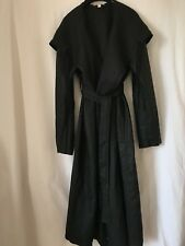 Ladies NEW WOUT TAGS  Organic Linen Coat,Hood & Belt by EILEEN FISHER Size S/P