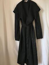 Femme Nouveau Wout balises Organique Lin manteau, capuche & ceinture par Eileen Fisher taille S/P