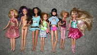 "BARBIE DOLLS  9"" and 10"" mary kate ashley doll too LOT"