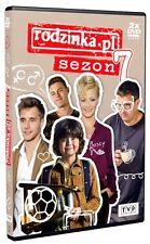 Rodzinka.pl - Sezon 7 (DVD) 2016 serial TV Kozuchowska, Karolak POLISH POLSKI