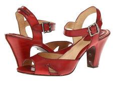 Frye Skyler Seam Sandals Pumps Shoes Red 10 M