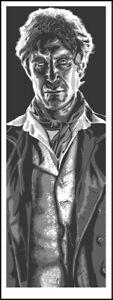 TIM DOYLE: DOCTOR WHO MCGANN limited art print not Mondo