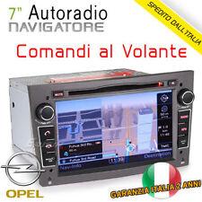 "AUTORADIO Navigatore 7"" OPEL ASTRA/CORSA/MERIVA/ANTARA/ZAFIRA GPS/USB/SD/3G/Mp3"