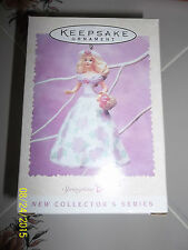 Hallmark Keepsake Springtime Barbie 1995 Easter Collector's Series New In Box