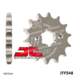 JT Sprockets 428 Front Sprocket Steel 13 Teeth Natural JTF548.13