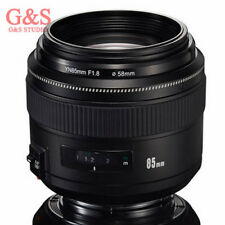 Yongnuo YN85mm F1.8 AF/MF Standard Medium Prime Fixed Telephoto Lens for Canon