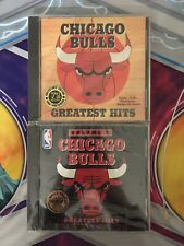 Chicago Bulls Greatest Hits Volume 1 & 2 CD 1996 1997 Factory Sealed Collectible
