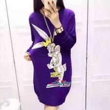 Moschino Bugs Bunny Sweater Dress M Looney Tunes RRP795GBP Jeremy Scott