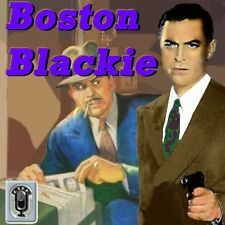 Old Time Radio Boston Blackie over 200 Episodes in MP3 on DVD