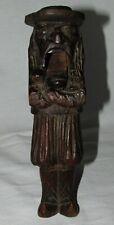CASSE-NOIX ancien anthropomorphe statuette bretonne / antique wood nutcracker