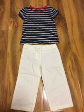 GapKids & Next Girls Top + Trouser Aged 6 Years Old