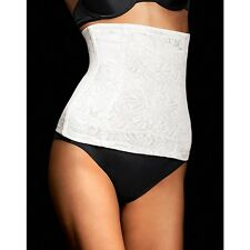 Cortland Foundations Long Torso High Waist White Cincher/Shaper Plus Size 42/6XL