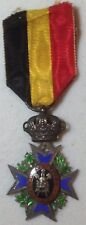 WW2 Belgian Medal Special Decoration For Workers And Aritison 1st Class