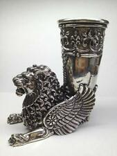 Sterling Silver Lion Cup