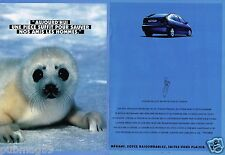 Publicité Advertising 1995 (2 pages) Renault Megane
