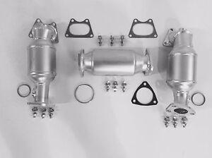 Fits 2004 2005 2006 2007 Saturn Vue 3.5L V6 P/S, D/S & Rear Catalytic Converters