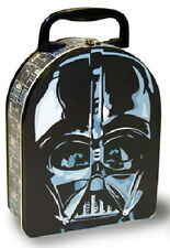 Star Wars Vader Head Shape Carry All Tin Lunchbox NEW UNUSED