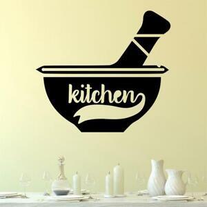 Kitchen Wall Sticker Decal Cooking Baking Transfer Vinyl UK