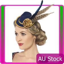 Ladies Authentic Bavarian Oktoberfest Mini Hat Oktoberfest Fancy Dress Accessory